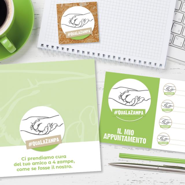 Qua La Zampa Immagine Coordinata | Newton Software Solutions & Communications