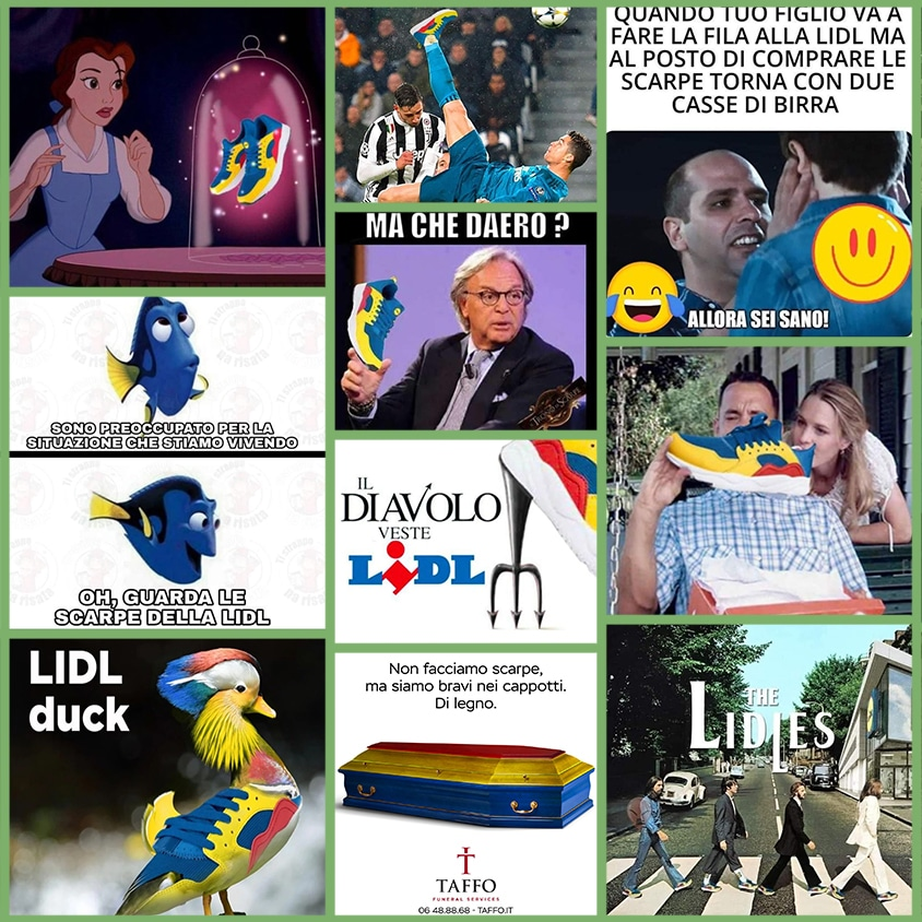 Meme Lidl Scarpe | Newton Software Solutions & Communications