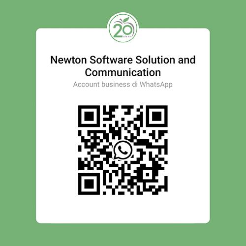 QR Code Newton WhatsApp