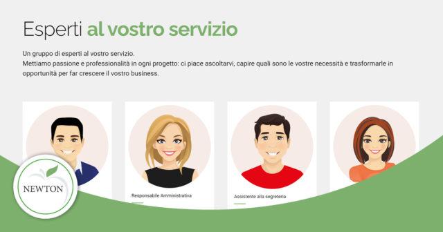 Esperti al vostro servizio | Newton Software Solution & Communication