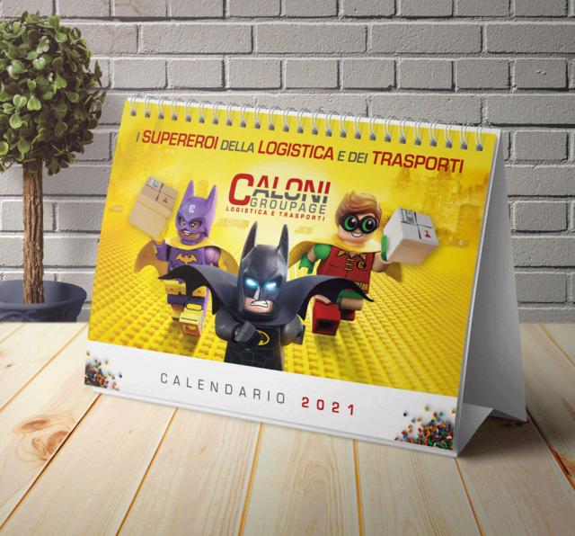 Calendario 2021 Caloni Groupage